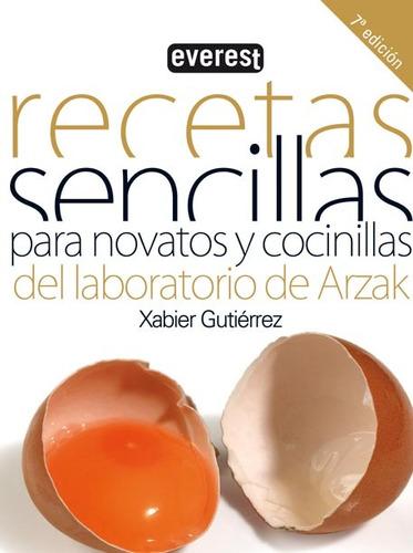 libro - recetas sencillas para novatos y cocinillas