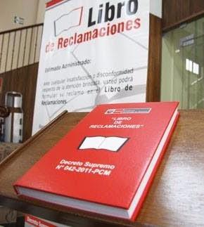 libro reclamaciones, evita la multa! entrega inmediata