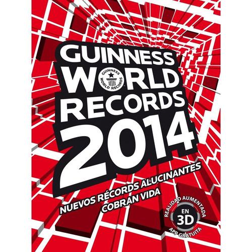 libro records guinness 2014 de coleccion nuevo de paquete