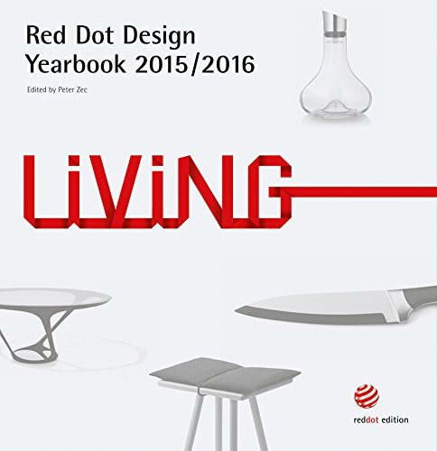 libro red dot design yearbook 2015 / 2016: living - nuevo