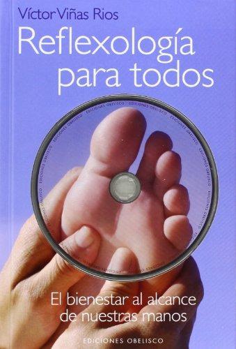 libro reflexiologia para todos c/dvd - nuevo -