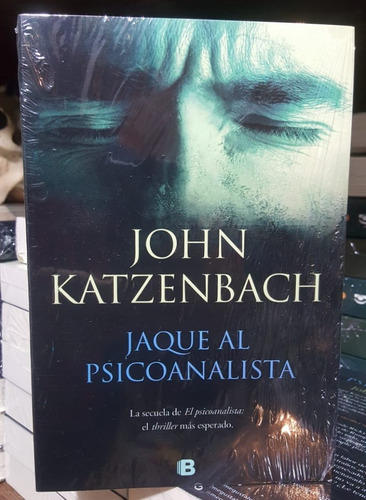 libro regalo + libro jaque al psicoanalista john katzenbach