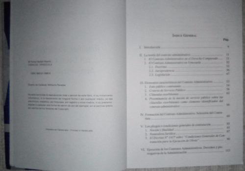 libro  régimen jurídico del contrato administrativo  (usado)