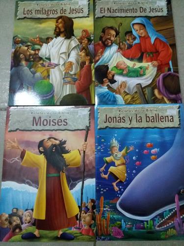 libro relatos de la biblia 8 tomos