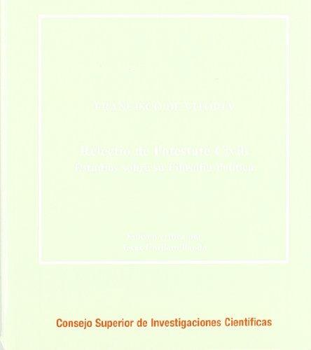 libro relectio de potestate civili: estudios sobre su filoso