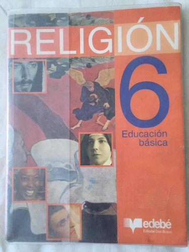libro religión 6 edebé