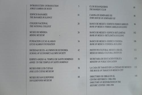 libro remodelacio centro de la ciudad de mexico