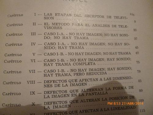 libro reparacion de tv sin istrumentos  --- saul sorin (219