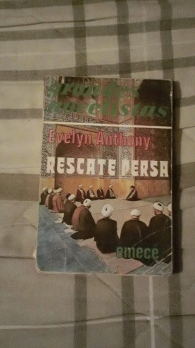 libro rescate persa, evelyn anthony.