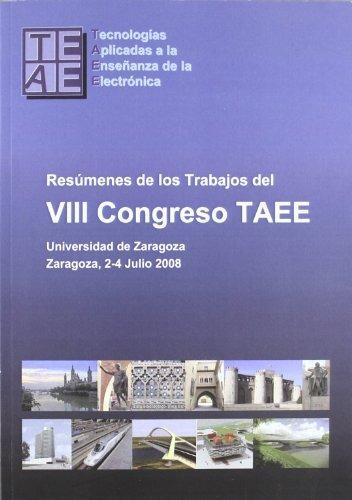libro resãºmenes de los trabajos del viii congreso taee. un