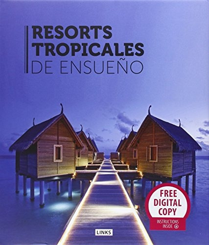 libro resorts tropicales de ensueño - nuevo -