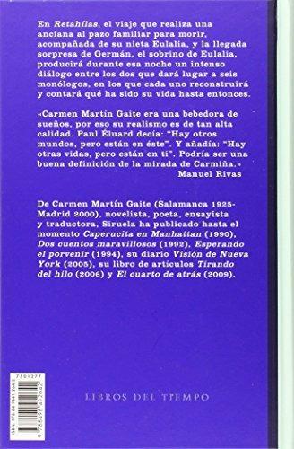 libro retahilas (l.t.) - nuevo