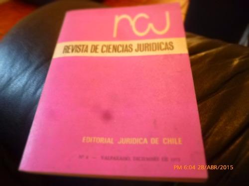 libro revista de ciencias juridicas n° 4 dic 1973 (432w