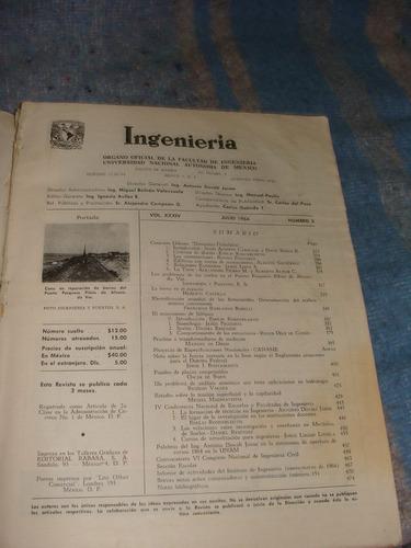 libro revista ingenieria, 1964