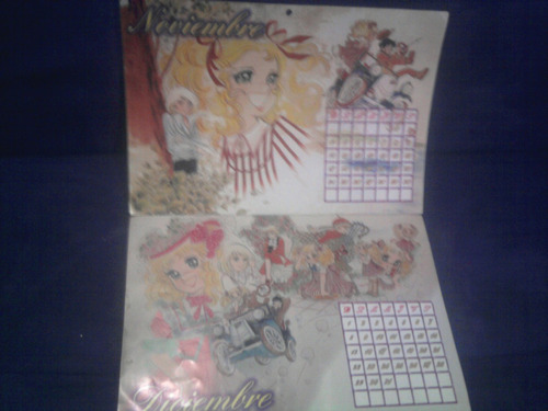 libro revistas album calendario vintage candy candy