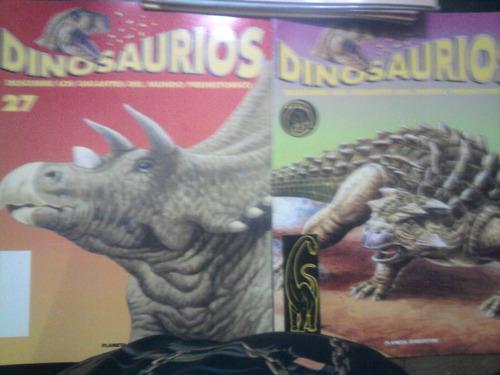 libro revistas dinosaurios planeta deagostini jurassick park