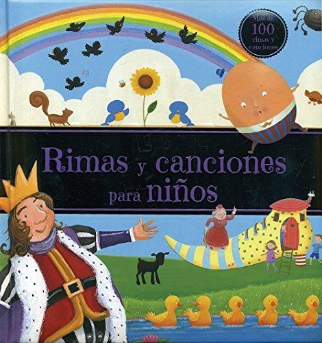 libro rimas y canciones para niños - nuevo