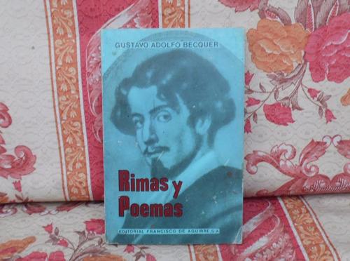 libro rimas y poemas - gustavo adolfo becquer