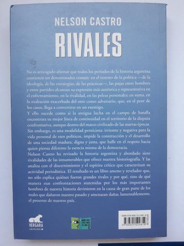 libro rivales - nelson castro