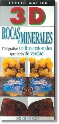 libro rocas y minerales con espejo mágico 3d tapa dura