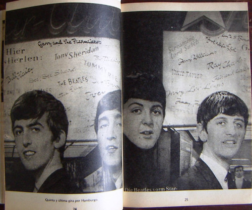 libro rock, conecte, presenta, beatles 1
