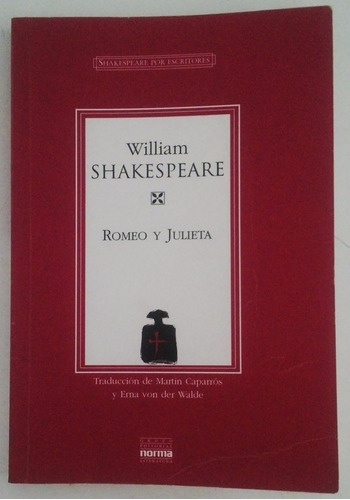libro  romeo y julieta  - william shakespeare (norma)