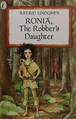 libro ronia, the robber's daughter - nuevo