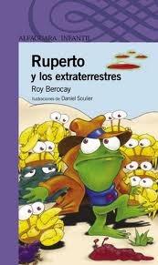 libro ruperto y los extraterrestres - berocay  ed. alfaguara
