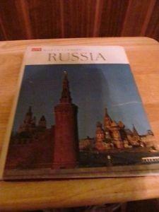 libro russia tapa dura vintage