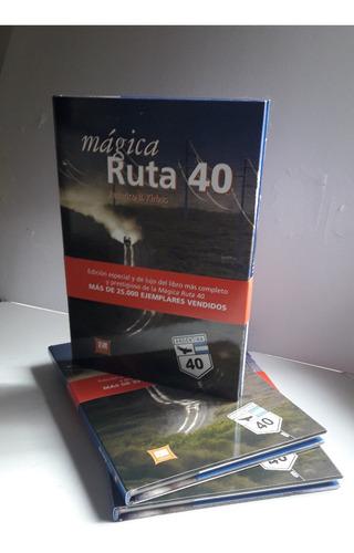 libro ruta 40 federico kirbus - tapa dura - 112 pag