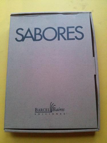 libro @ sabores cocina barcel baires recetas