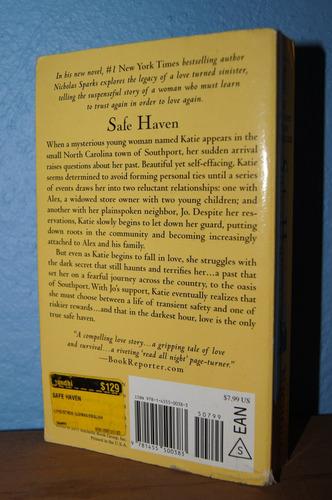 libro safe haven nicholas sparks