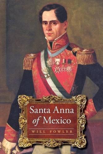 libro santa anna of mexico - nuevo