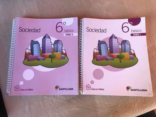 libro santillana casa del saber sociedad 6 basico