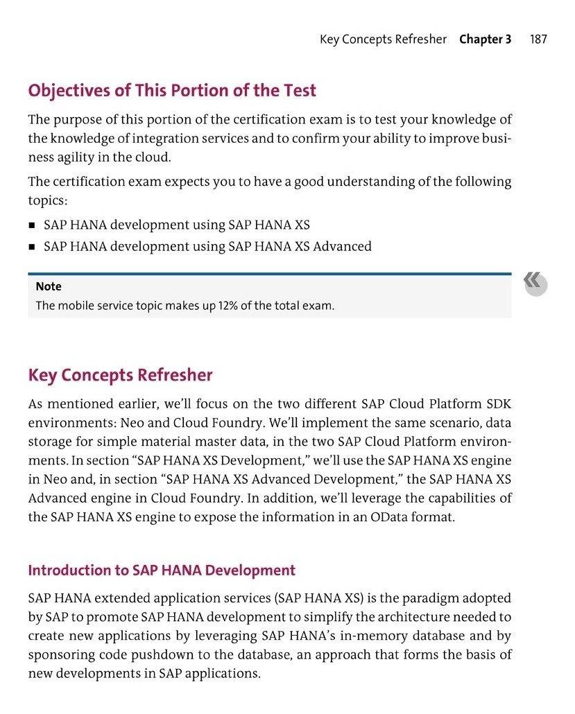 Libro Sap Cloud Platform Certification Guide Development