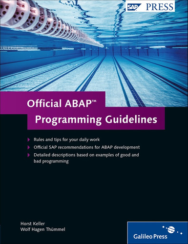 libro sap official abap programming guidelines