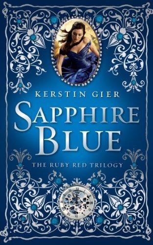libro sapphire blue - nuevo