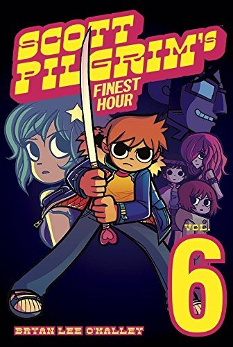 libro scott pilgrim volume 6: scott pilgrims finest hour