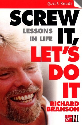 libro screw it, let's do it: lessons in life - nuevo
