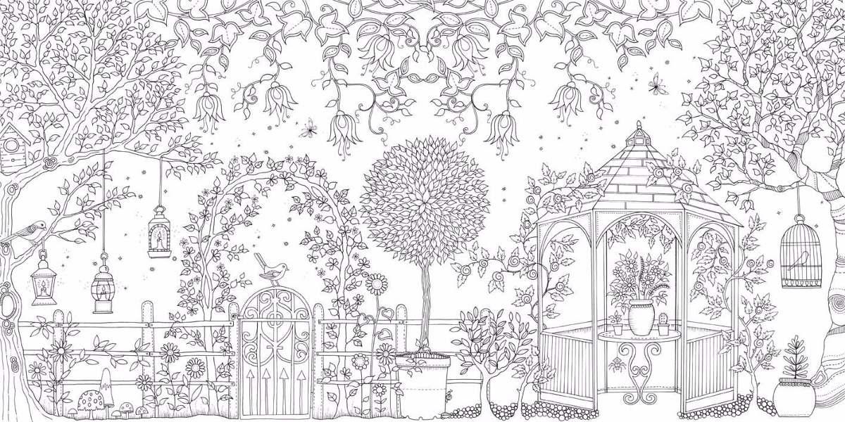 Libro Secret Garden Para Colorear (venta Al Por Mayor) - $ 2.700 en ...