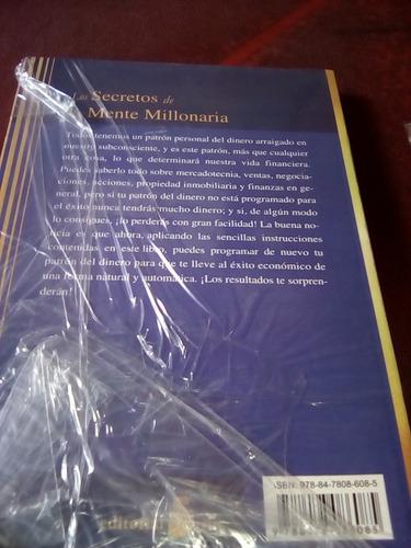 libro secretos de la mente millonaria