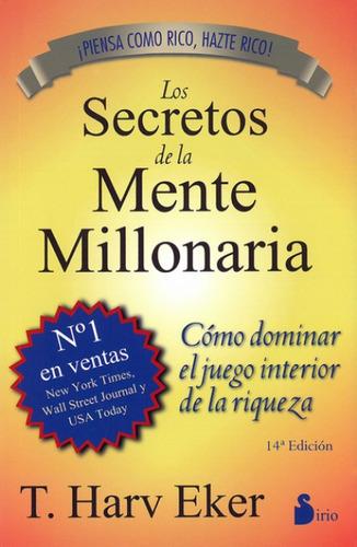 libro, secretos de mente millonaria de t. harv eker original