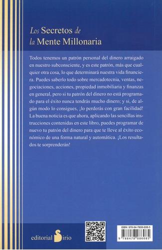 libro, secretos de mente millonaria t. harv eker no original