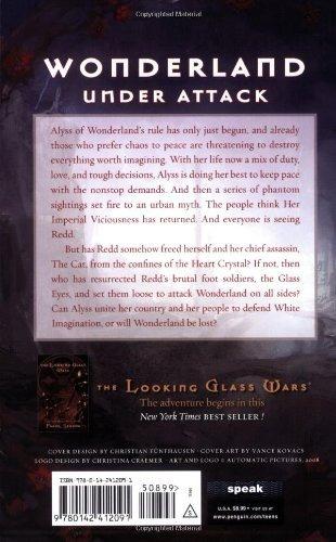 libro seeing redd: the looking glass wars - nuevo