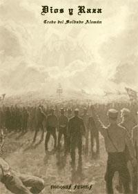 libro segunda guerra dios y raza. credo del soldado alemán