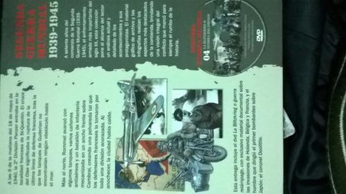 libro segunda guerra mundial tomo 4 mas dvd a color nuevo