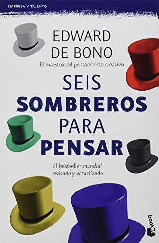 libro seis sombreros para pensar - nuevo