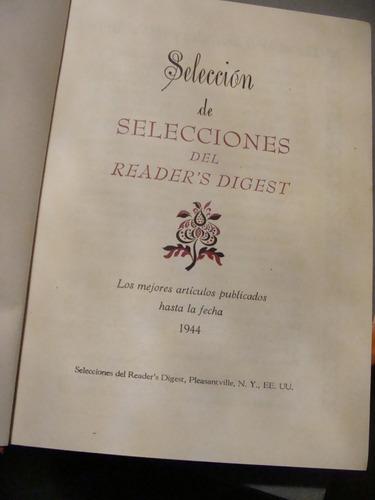 libro selección de selecciones del readers digest  , año 194