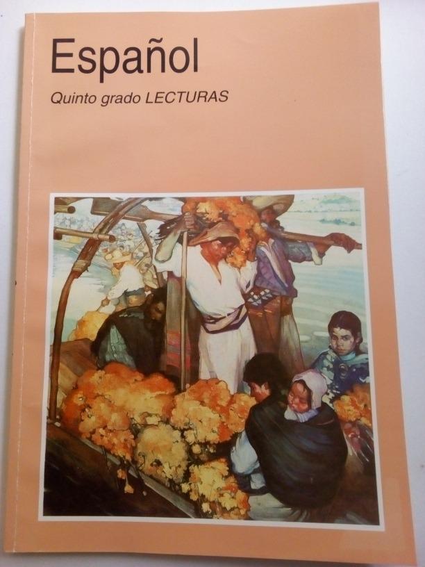 Libro Sep Español Lecturas Quinto Grado 2003 - $ 110.00 en