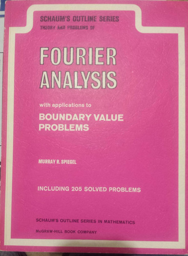 libro serie schaum 's outlines fourier analysis